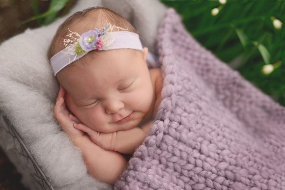 raleigh nc newborn photography baby girl