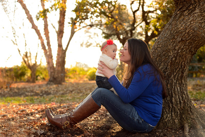 best locations for fall family portraits- J. Raulston Arboretum, Raleigh, NC