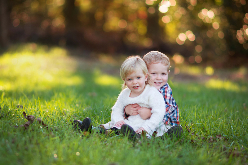 Fall family mini-sessions raleigh nc