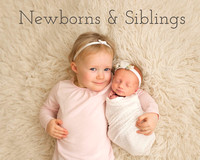 newborn babies and their siblings raleigh holly springs fuquay varina nc newborn photographers