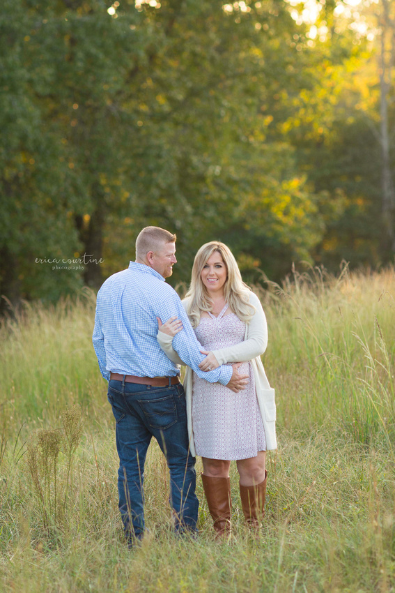 raleigh and holly springs nc maternity and pregnancy portrait session at a farm