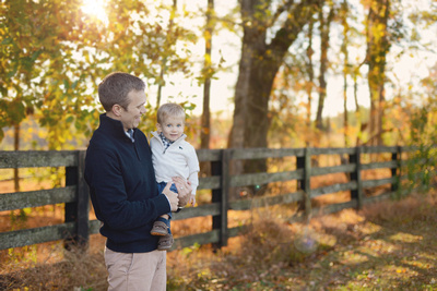 Best parks for fall family portraits by raleigh cary apex family photographer.  This is Sugg Farm in Holly Springs