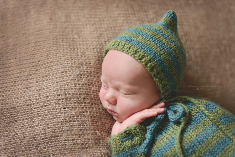 newborn photography holly springs nc portrait session with a baby boy