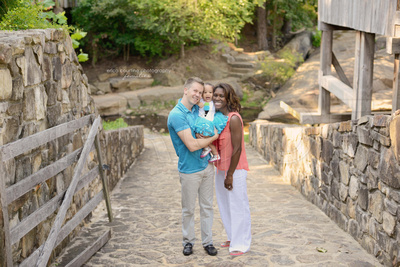 best places for fall family portraits in raleigh cary holly springs apex nc photographer historic yates mill county park