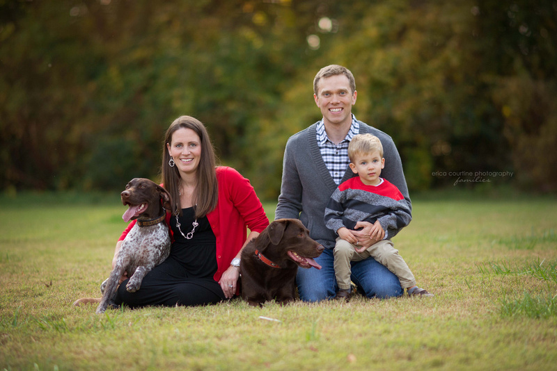 raleigh cary apex holly springs fuquay varina fall mini-sessions at oak view county park