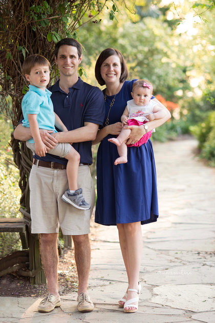 A family during a photography session in Raleigh NC.