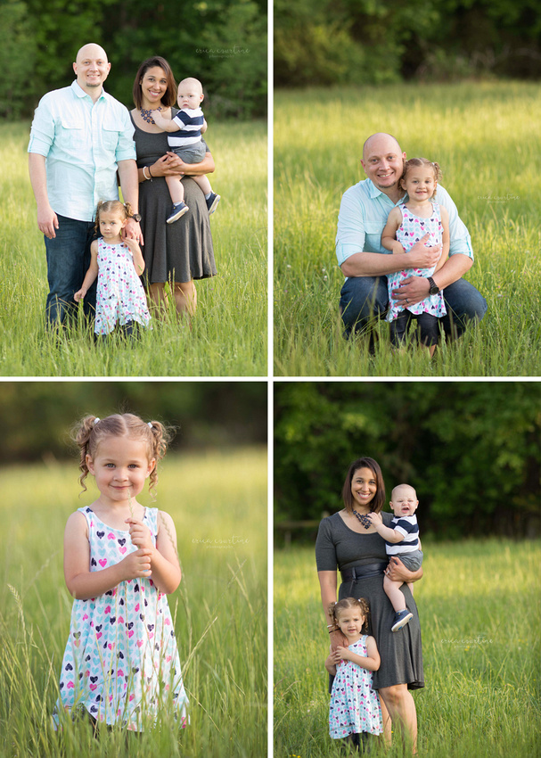 A meadow in Sugg Farm in Holly Springs outside of Raleigh NC by a family portrait photographer.