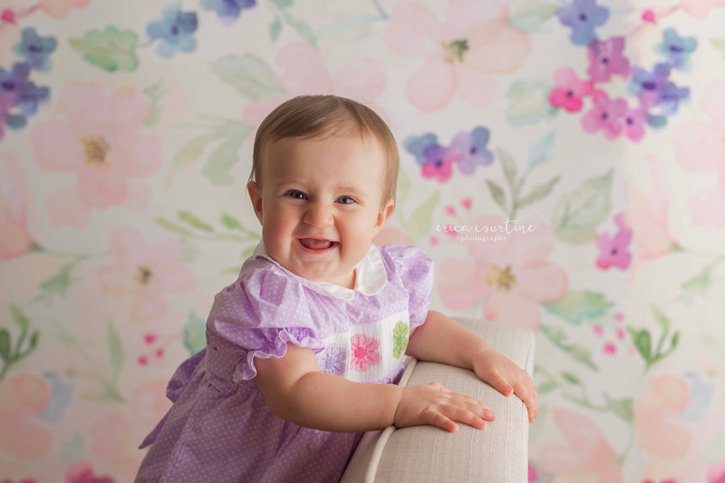 Raleigh Fuquay Varina NC baby milestone photography mini-sessions