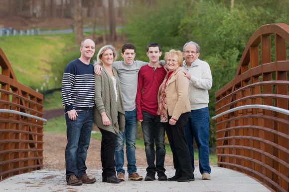 raleigh nc grandparents family portrait session