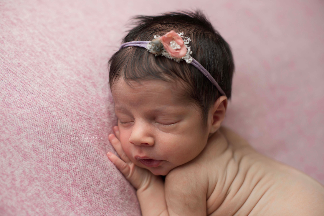 raleigh cary apex holly springs fuquay varina newborn photographer in home twin photography session.