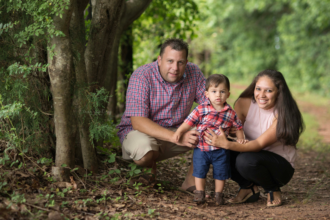 A family photography session in Holly Springs, outside of Raleigh NC.